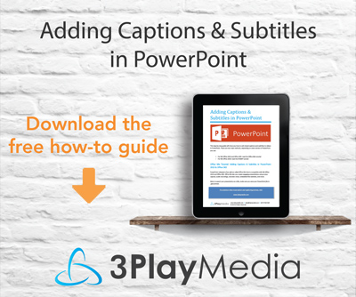 Adding Captions & Subtitles in PowerPoint